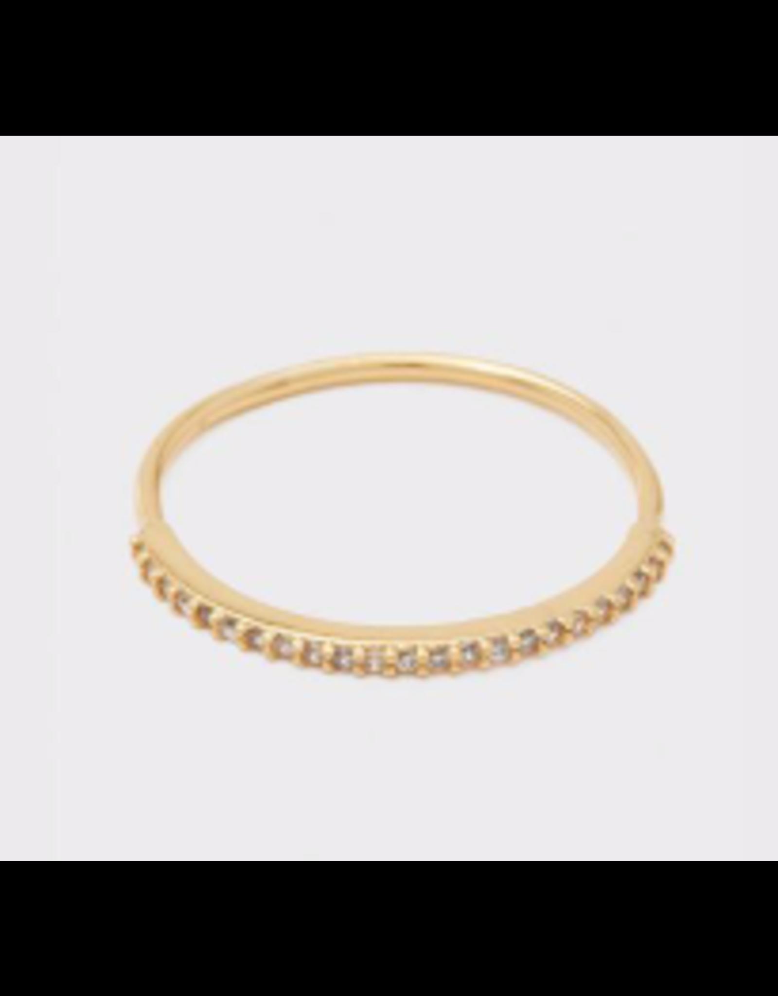 Shimmer Bar Ring Size 6