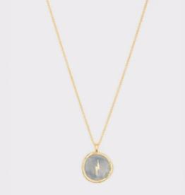 Website Lightning Coin Necklace