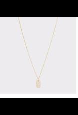 Website Griffin Shimmer Dog Tag - gold