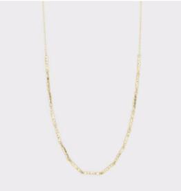 Website Balboa Bar Necklace - gold