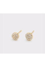 Website Pristine Charm Shimmer Studs - gold