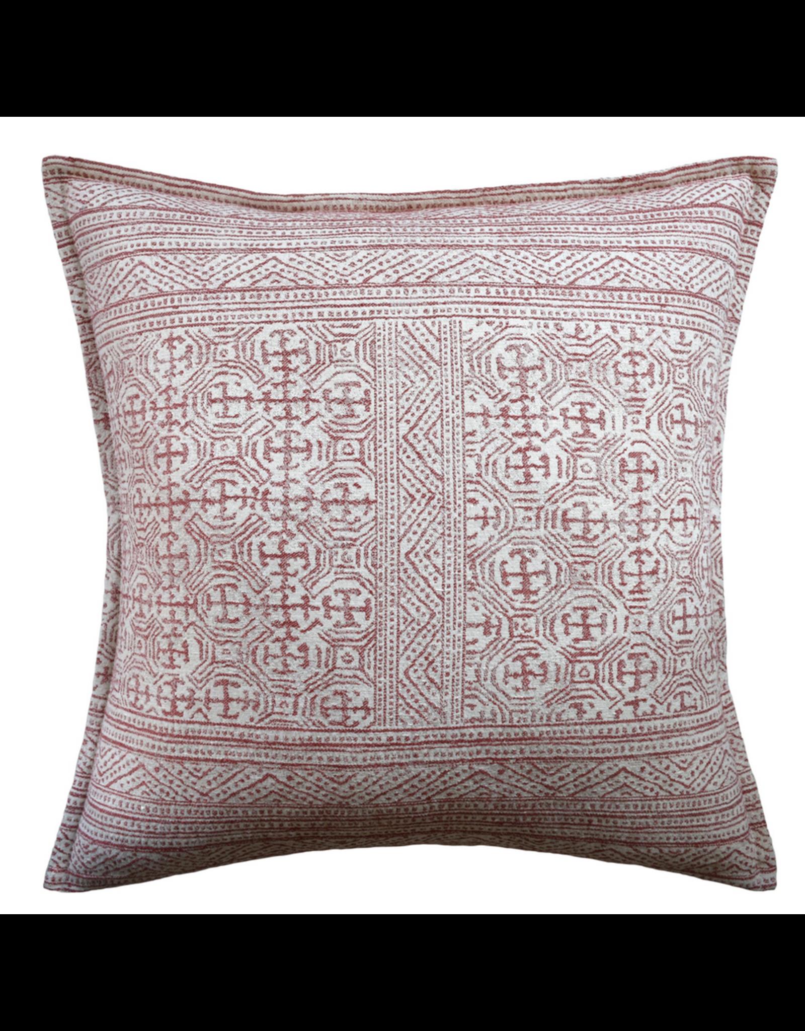 "Website Montecito Red Pillow 22"""