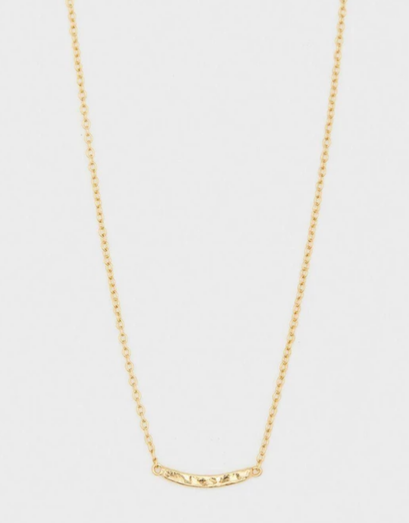 Website Taner Bar Mini Bar Necklace - gold