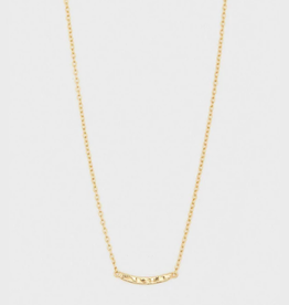 Website Taner Bar Mini Bar Necklace - gold