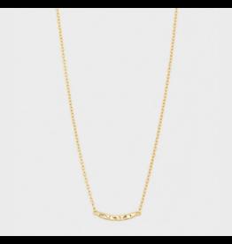 Taner Bar Mini Bar Necklace - gold