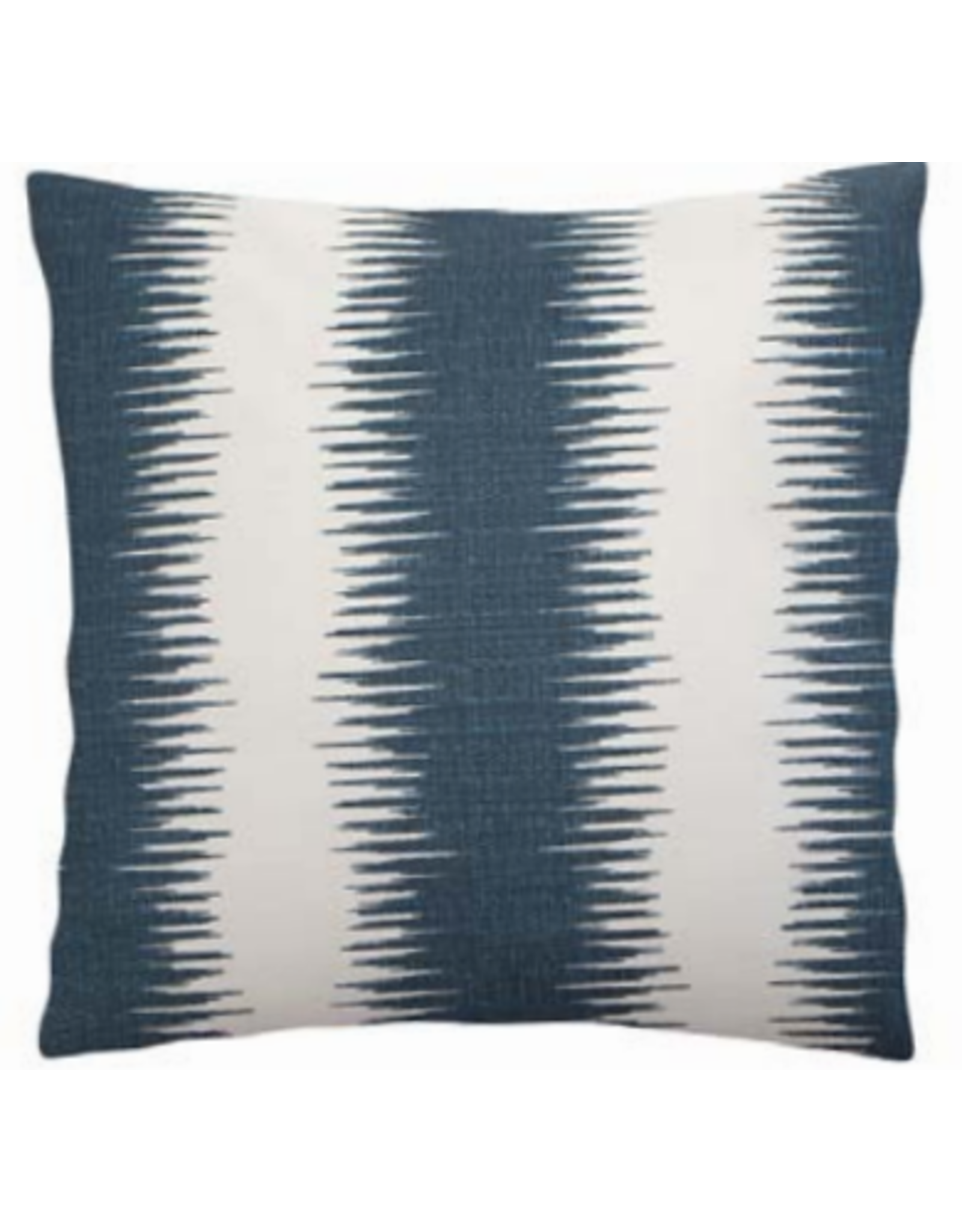 Soundwaves Indigo Pillow 22""