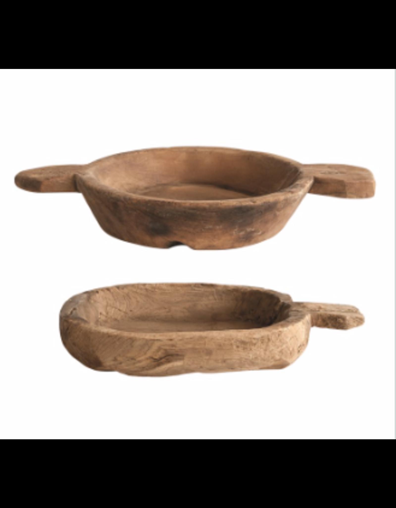 Found Decorative Wood Bowl - small