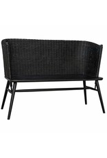 Website Noir Curba Loveseat - Charcoal Black