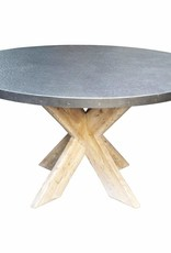 Website Noir Austin Dining Table - Zinc