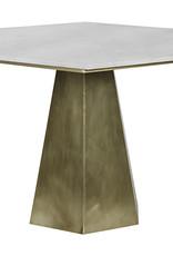 Website Noir Demetria Table - Antique Brass