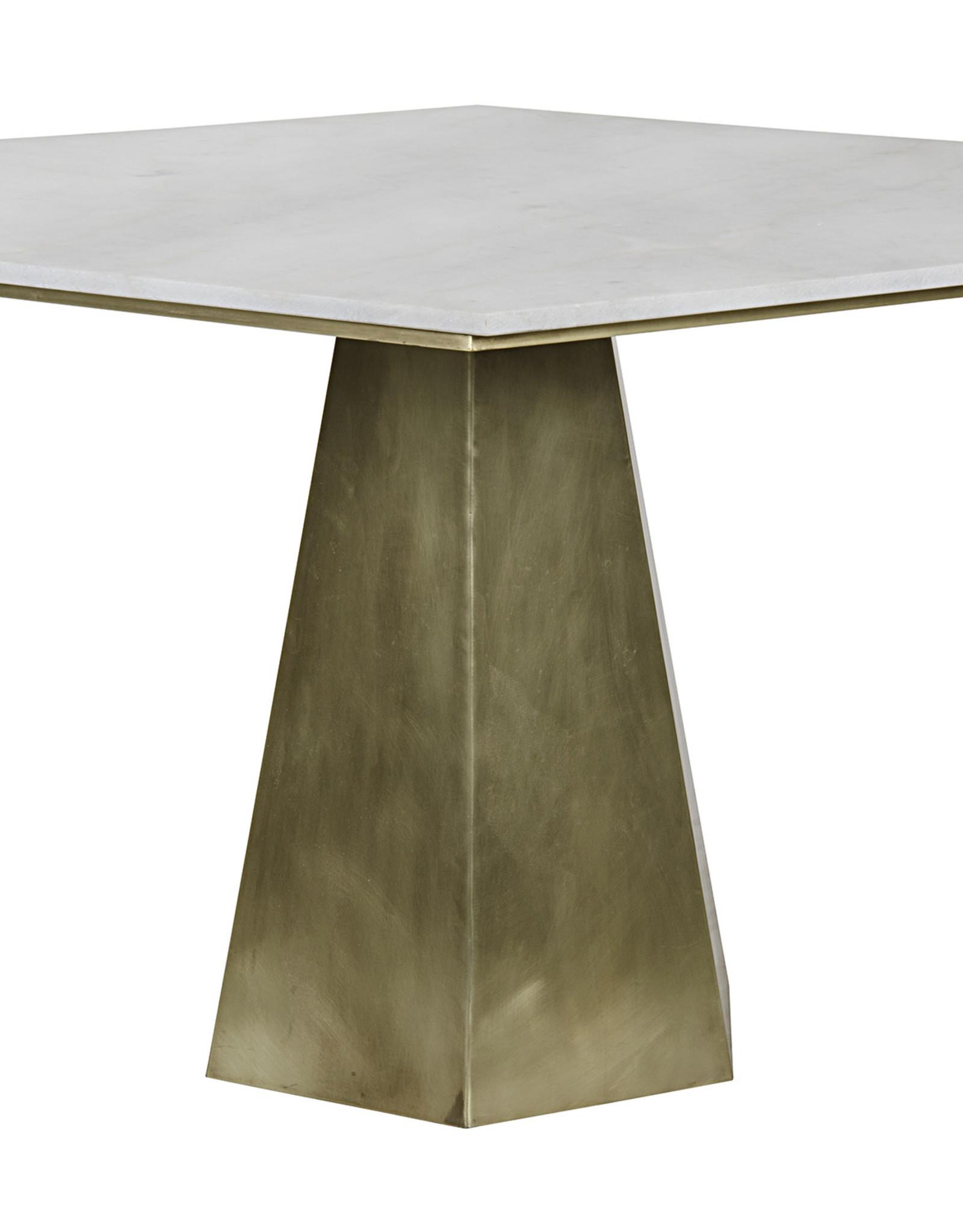 Website Demetria Table - Antique Brass