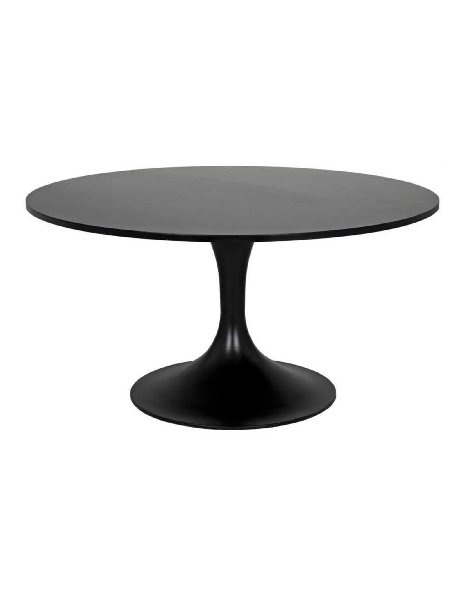 Website Noir Herno Dining Table - Metal