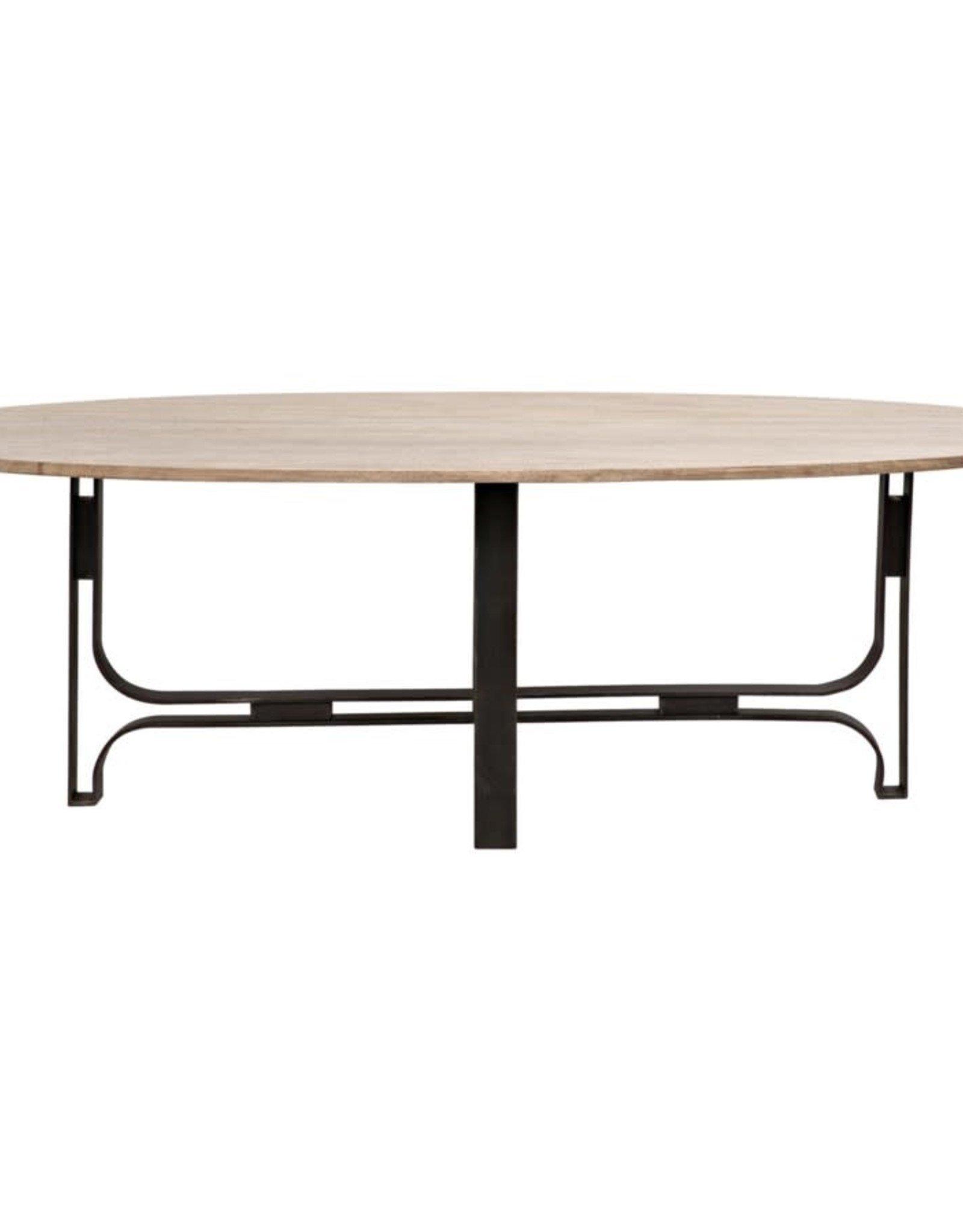 Website Noir Adrien Oval Table