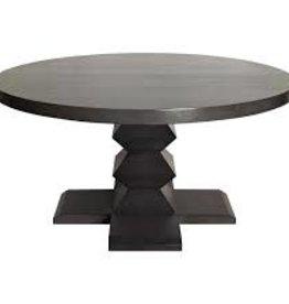Website Noir Zig-Zag Base Dining Table