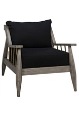 Website Noir Strasbourg Chair - Distressed Grey
