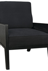 Website Noir Massy Chair - Hand Rubbed Black