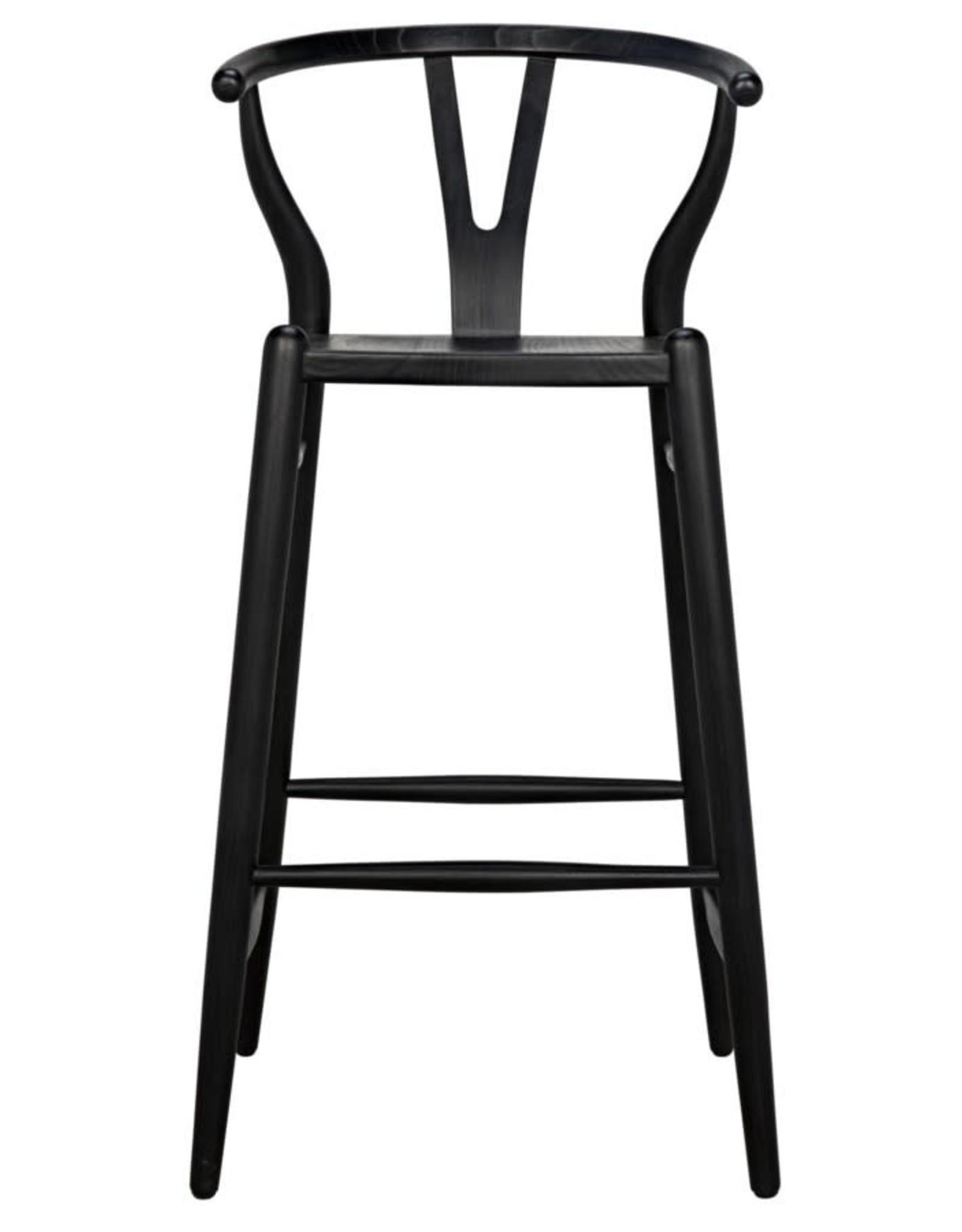 Website Zola Bar Stool - Charcoal Black