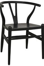 Website Noir Zola Chair - Charcoal Black
