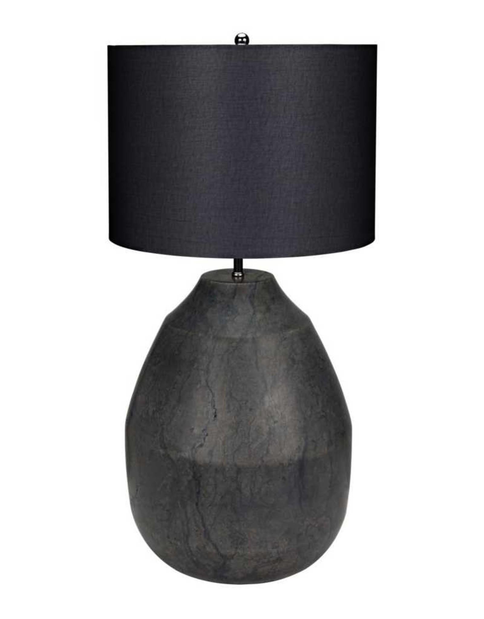Website Figaro Lamp - Black Stone