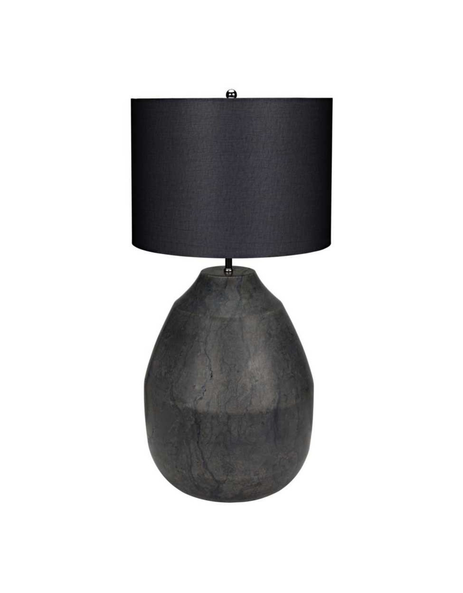 Website Noir Figaro Lamp - Black Stone