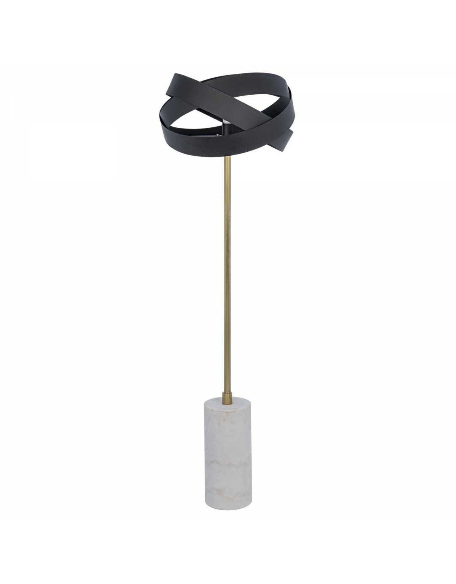 Website Noir Orion Floor Lamp