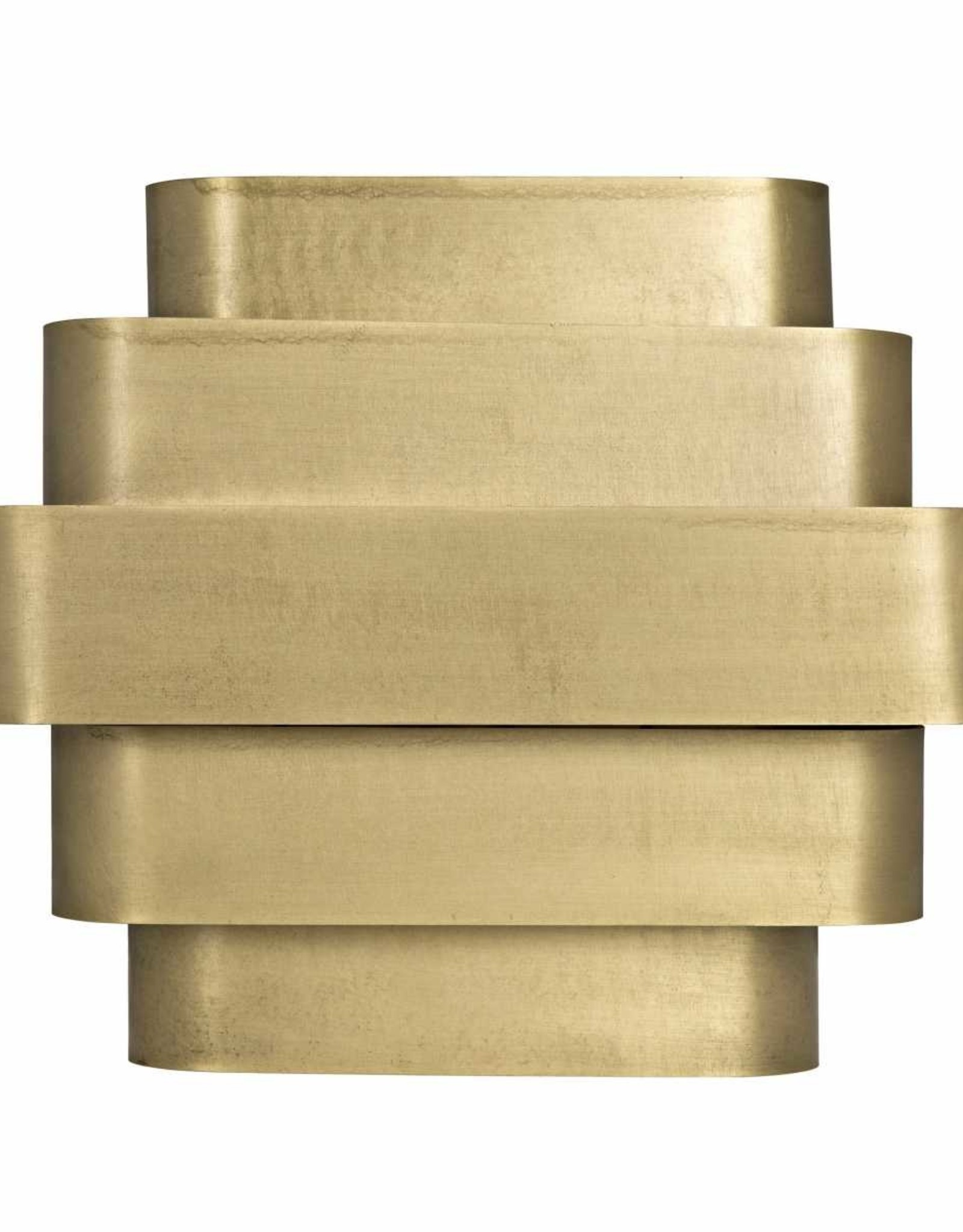 Website Baas Sconce - Antique Brass