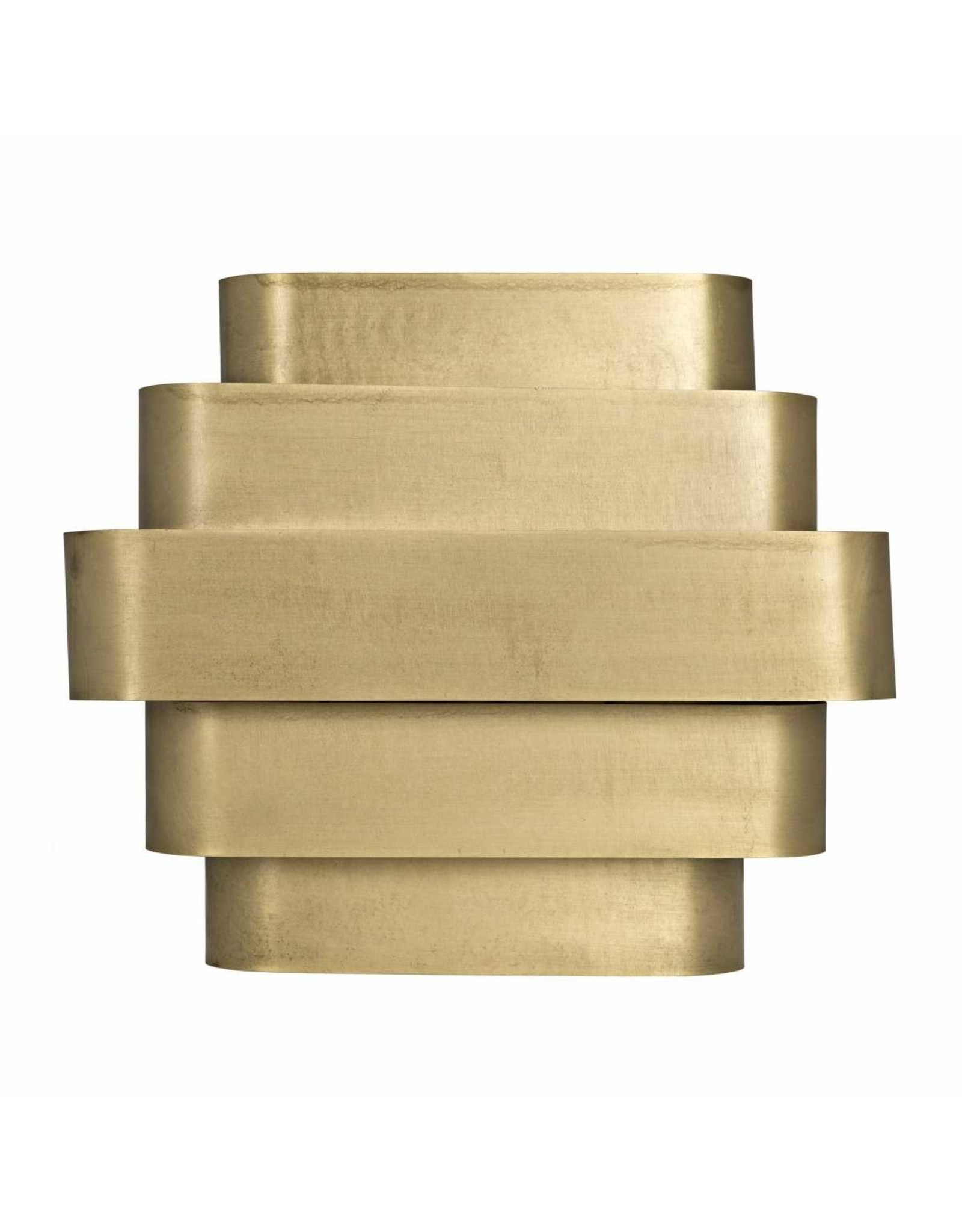 Website Noir Baas Sconce - Antique Brass