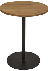 Website Noir Ford Side Table - Gold Teak