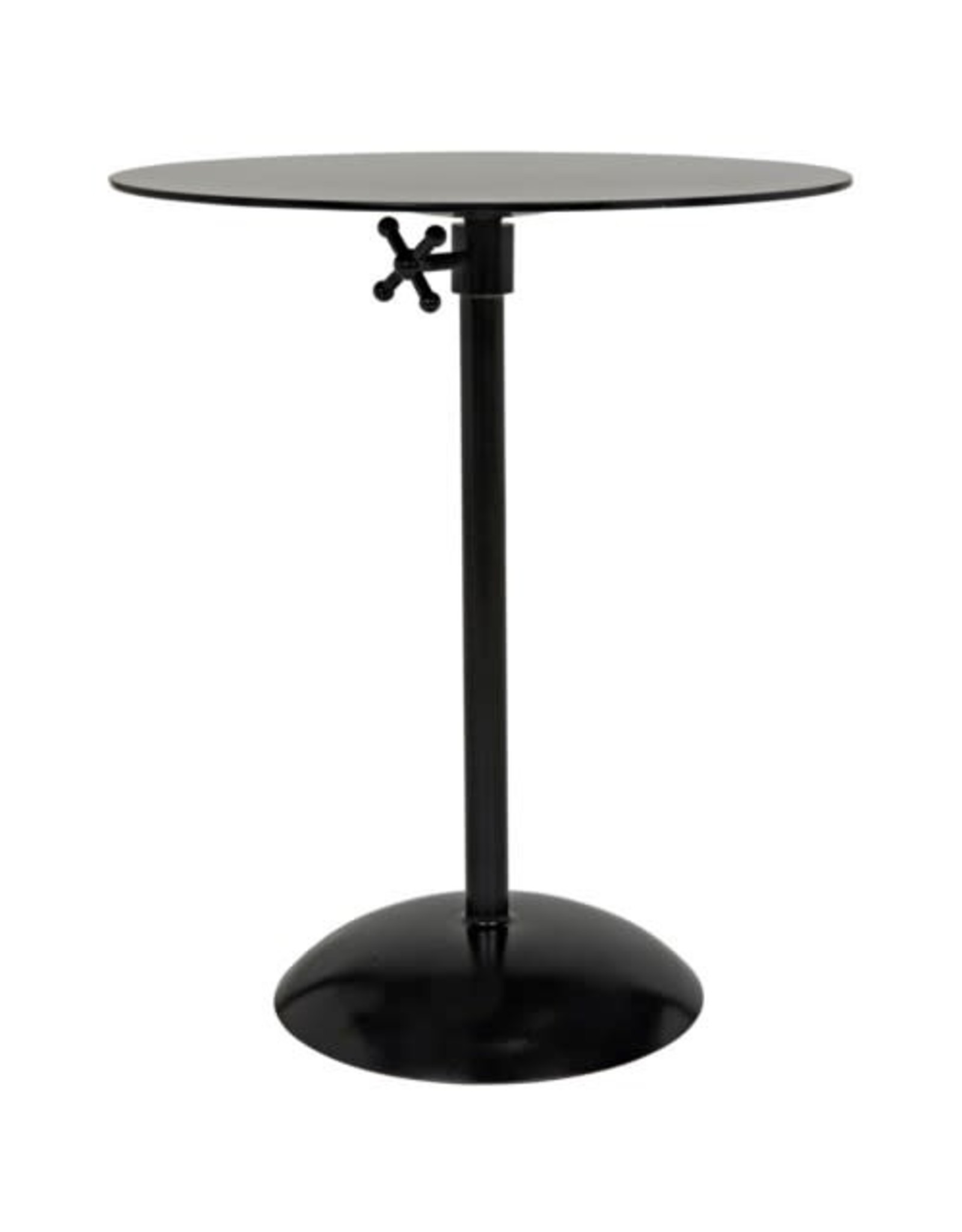Website Noir Felix Side Table - Black Metal