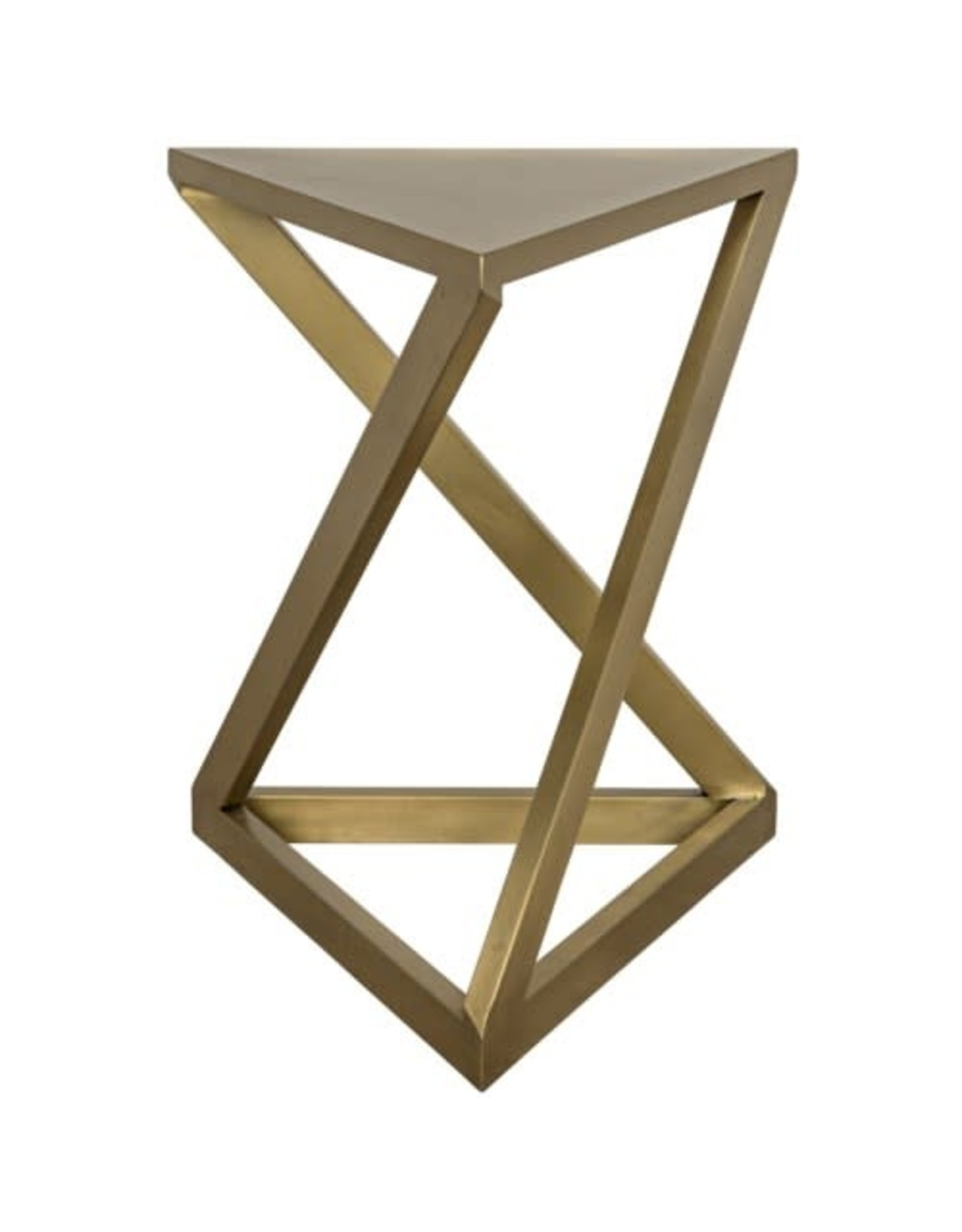 Website Orpheo Side Table - Antique Brass