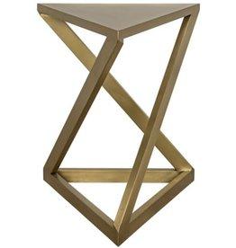 Website Noir Orpheo SIde Table - Antique Brass