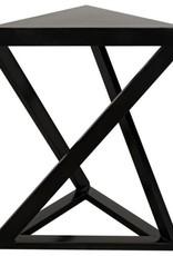 Website Orpheo Side Table - Black Metal