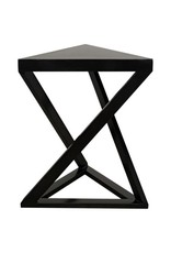 Website Noir Orpheo Side Table - Black Metal