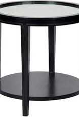 Website Imperial Side Table - Hand Rubbed Black