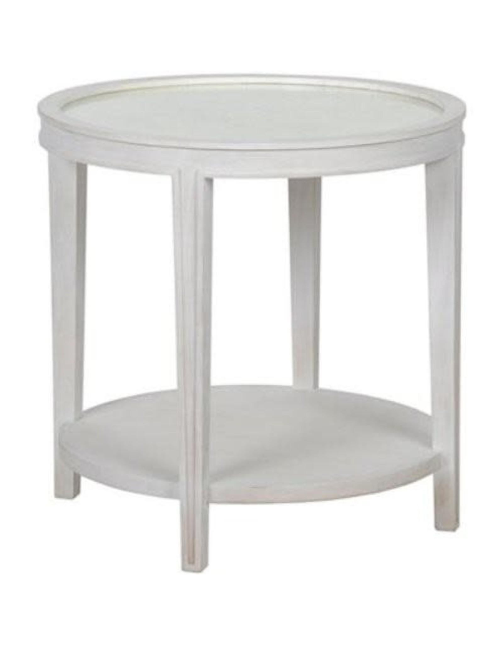 Website Noir Imperial Side Table - White Wash