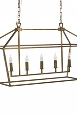 Website  Adler Rectangular Chandelier