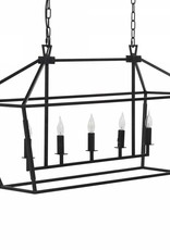 Website  Arnold Rectangular Chandelier
