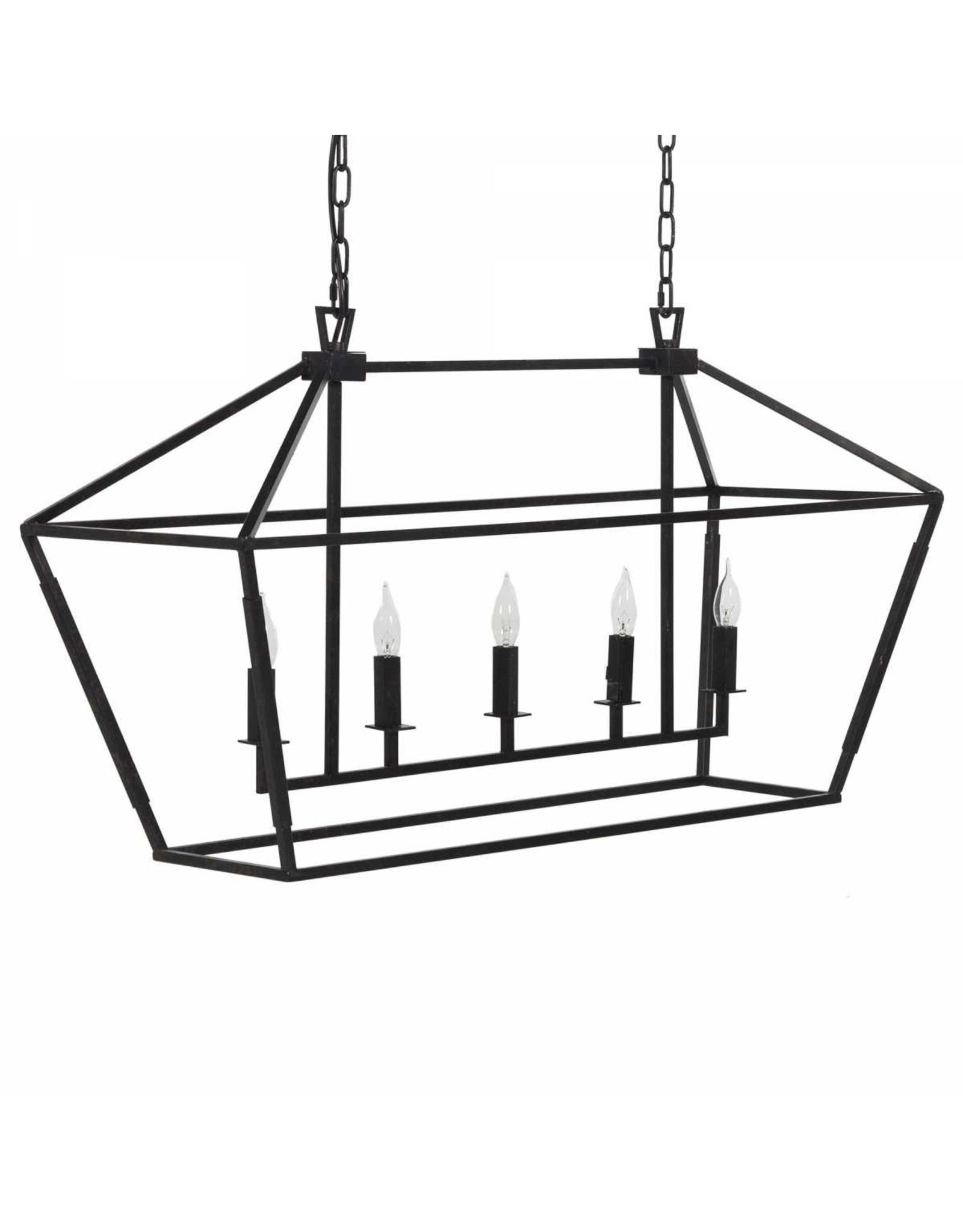 Website Gabby Arnold Rectangular Chandelier