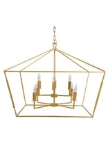 Website Gabby Adler Large Chandelier - Gold