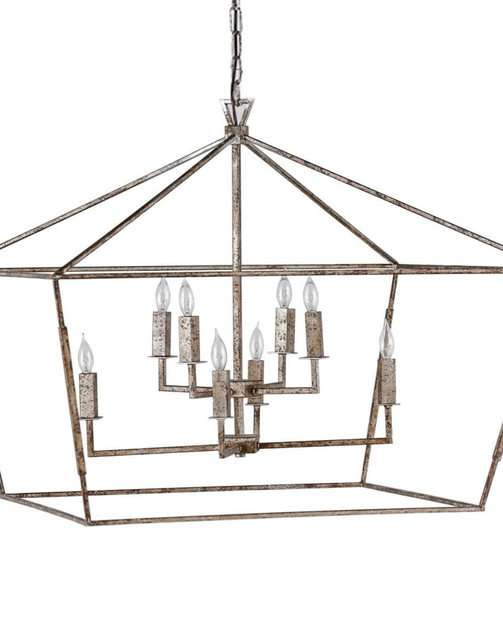 Website  Amelia Large Chandelier - Silver