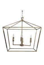 Website Gabby Amelia Small Chandelier - Silver