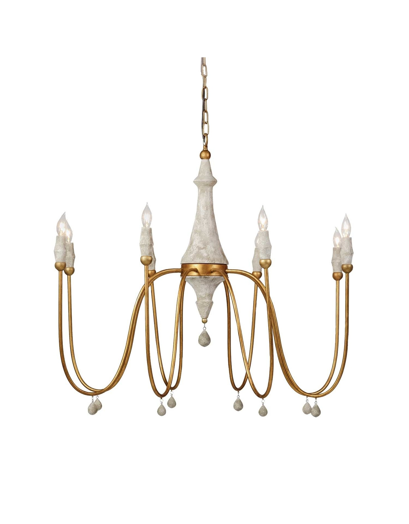 Website Gabby Clay Chandelier