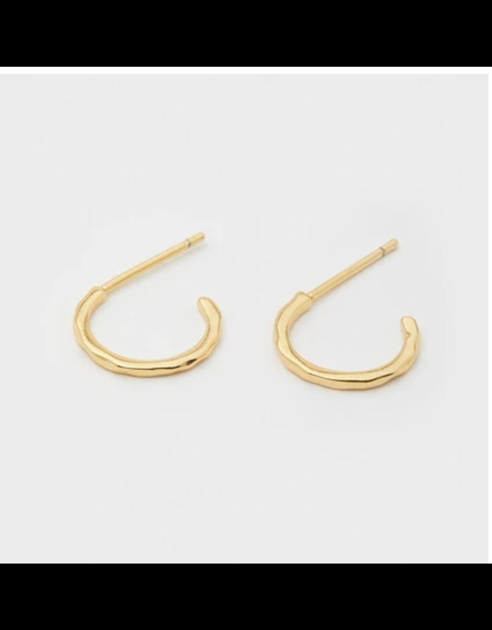 Taner Mini Hoops - gold
