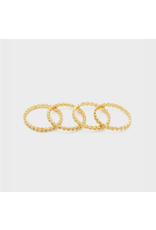 Mini Stackable Rings - gold/7