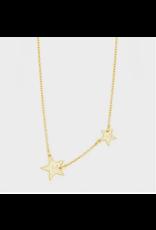 Super Star Necklace- gold