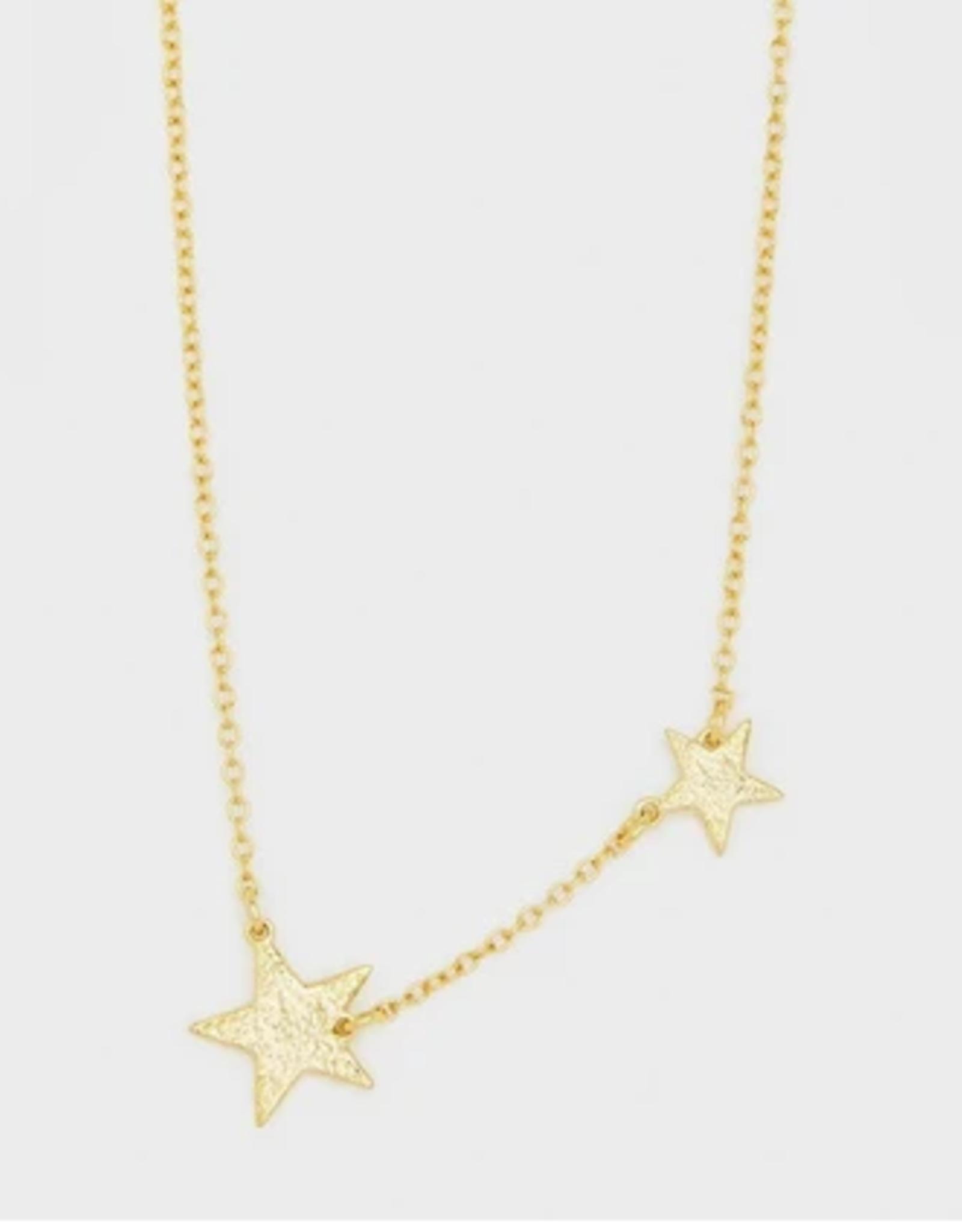Website Super Star Necklace- gold