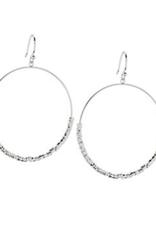 Website Laguna Drop Hoops - silver