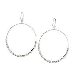 Website Laguna Drop Hoops - silver