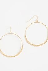 Website Laguna Drop Hoops - gold