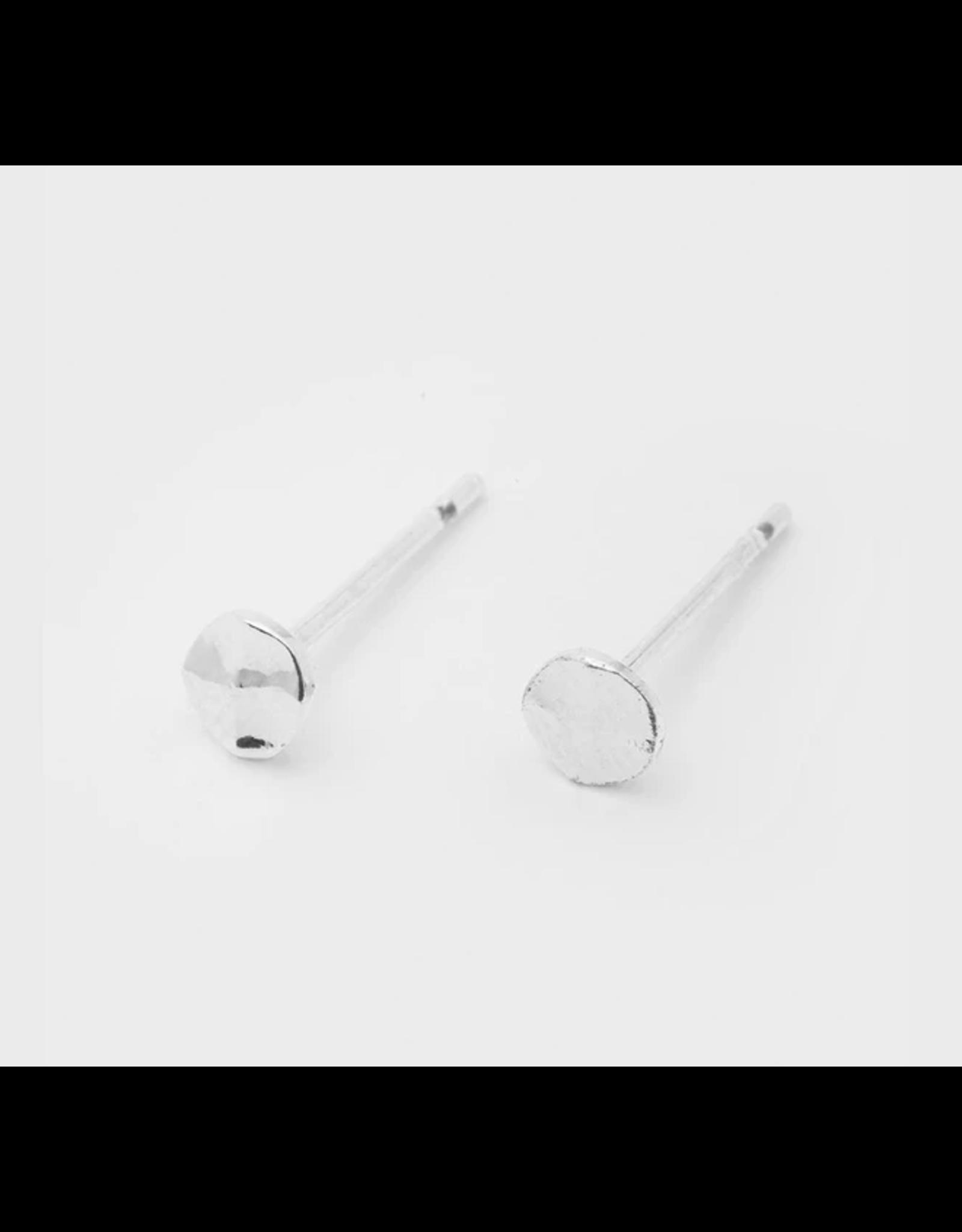 Website Chloe Mini Stud - silver
